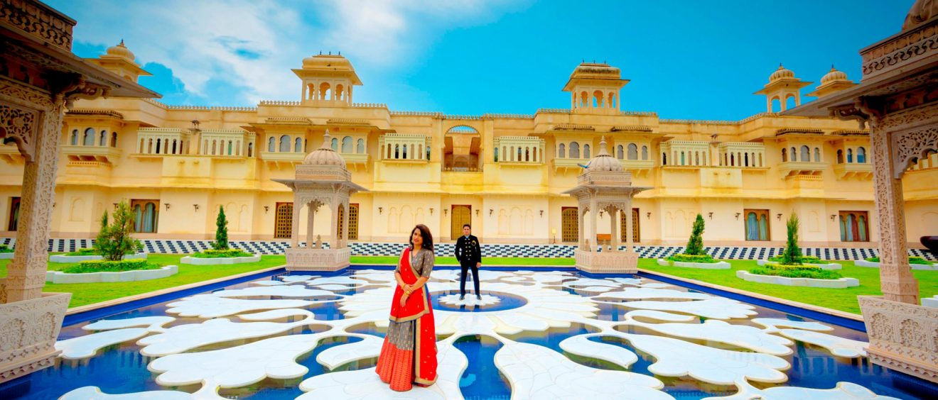 The Oberoi Udaivilas Best Location To Shoot Pre Wedding In Udaipur
